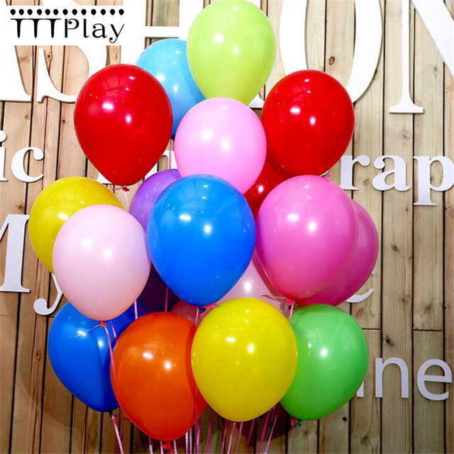 Black Balloons 50pcs 12 Inch 2.2g Wedding Decoration Latex Balloons For Happy Birthday Inflatable Helium Party Balloons Supplies