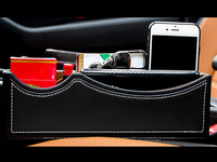 For Skoda Kodiaq 2017 2018 Car Seat Slit Gap Pocket Storage Glove Box Slot Box Interior Decoration Car styling
