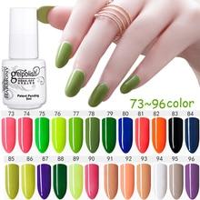 MDSKL 168 Colors 5ML Long lasting soak off Varnish New Angel Temptation Nail Gel Polish UV&LED Shining Colorful