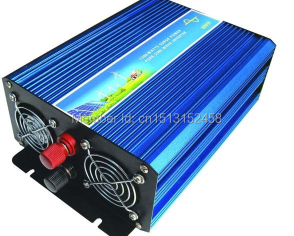 цена на 5000W Peak Pure Sine Wave Inverter,2500W Power Inverter12/24/12vdc to 120/230VAC