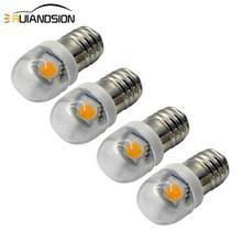 4x High quality 12v E10 led Instrument lights 1SMD 5050 E10 led bulbs 6V led E10 Pilot lamps 3V LED Signal lights 4300K/6000K