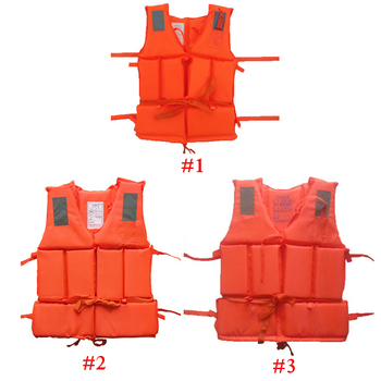 цена на Prevention Life Vest With Survival Whistle Water Sports Foam Life Jacket Drifting Water-skiing Upstream Surfing for Kids Adult C