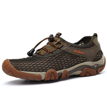 Nice New Casual Shoes For Men Summer Breathable Shoes Mens Trainers Fashion Air Mesh Men Flat Shoes Zapatos Hombre