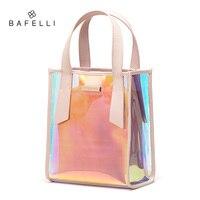 BAFELLI женские сумки через плечо Прозрачная женская сумка женские сумки из искусственной кожи ПВХ torebka damska malas de senhora