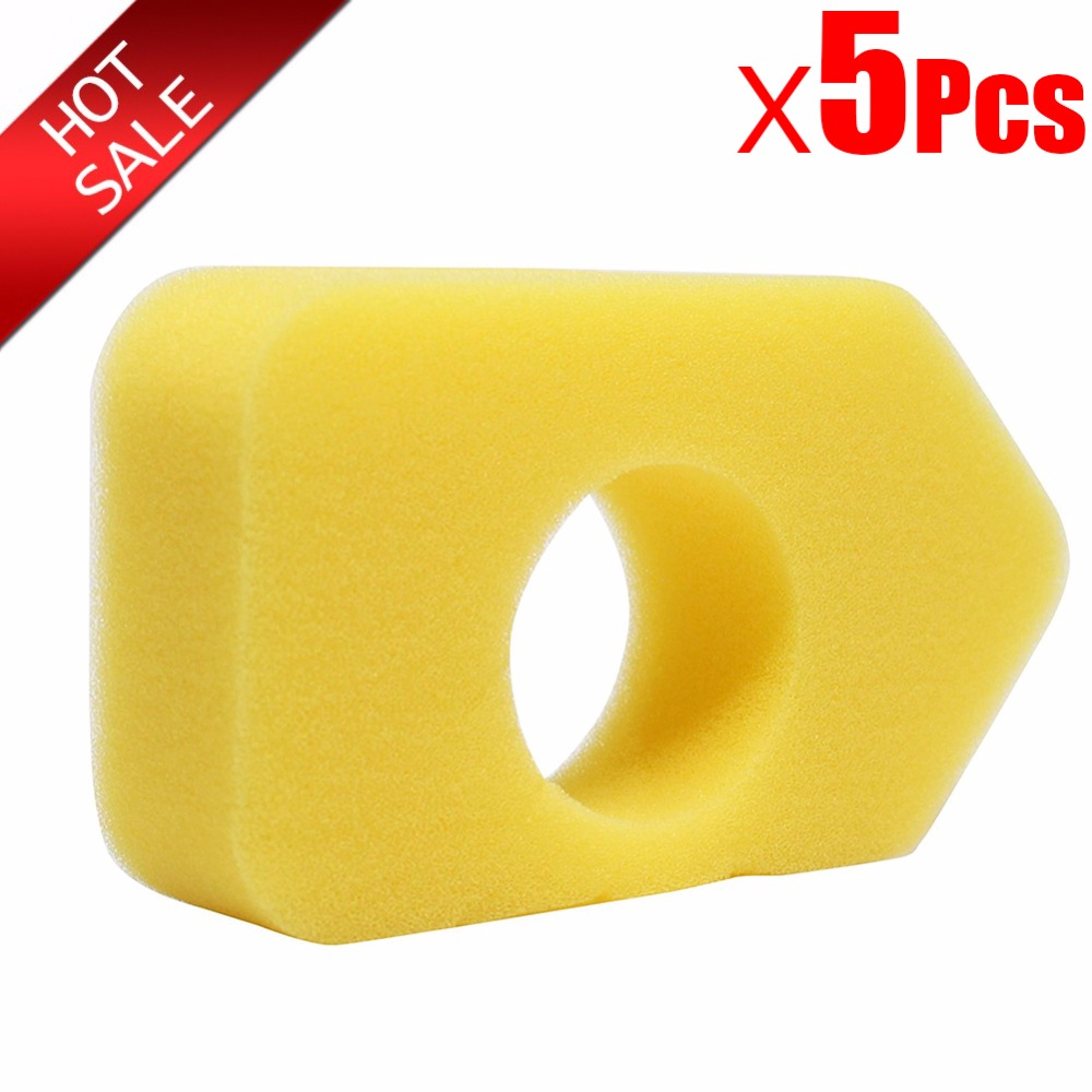 5Pcs High Density Replacement 698369 Air Filter For Briggs & Stratton 9b900 698369 Stens 100 632 9B900 Series 9T500 Series
