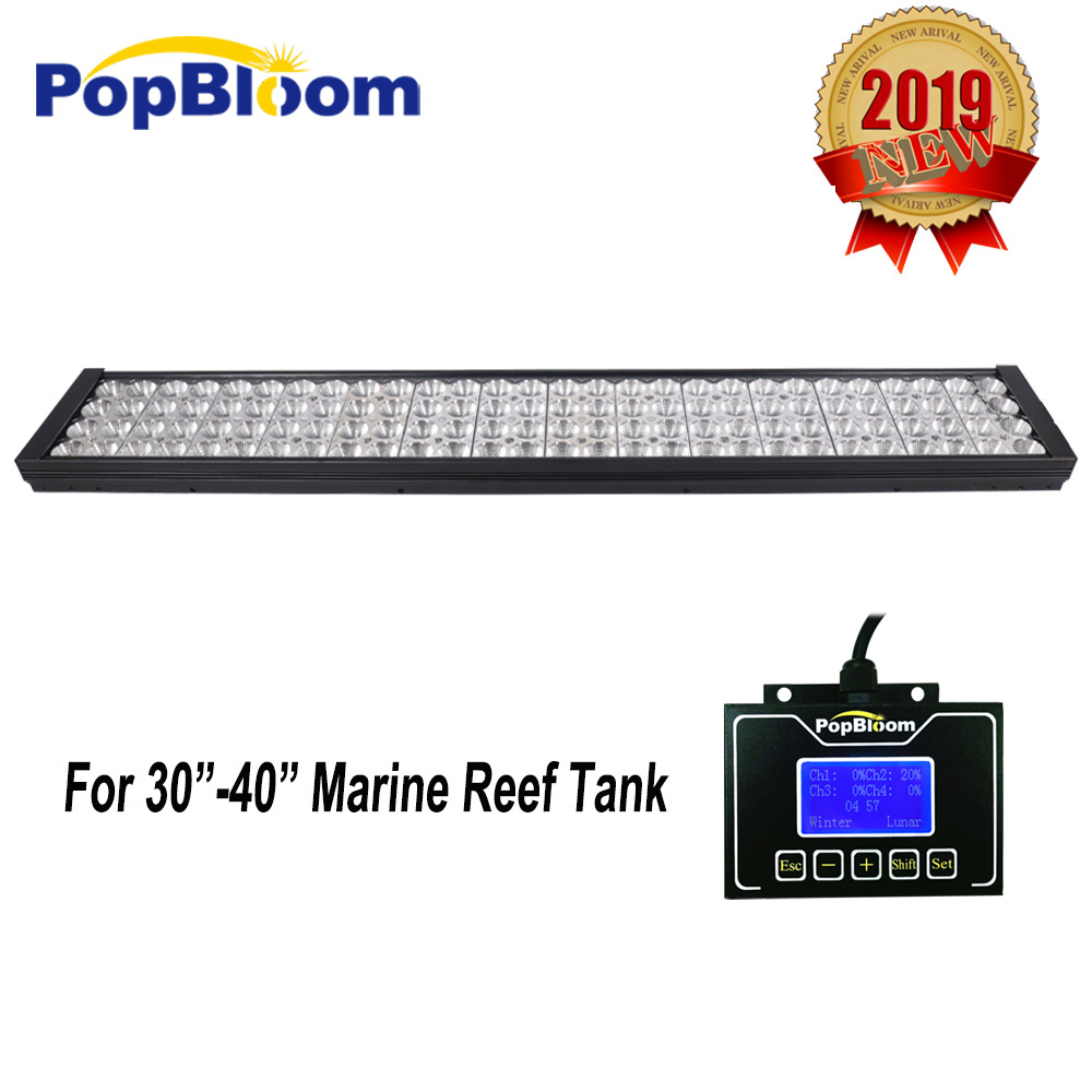 DSunY Dimmable Led Aquarium Lights for 90 100cm Marine Coral Reef SPS LPS Fish Grow tank