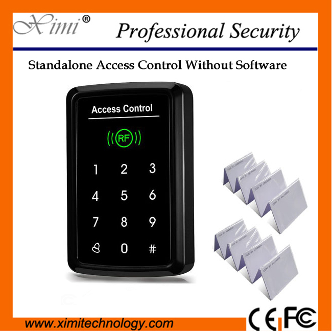 Free Shipping 1000 User Independent Password Standalone Multi-Function Rfid Card Reader F008 Smart Door Access Control