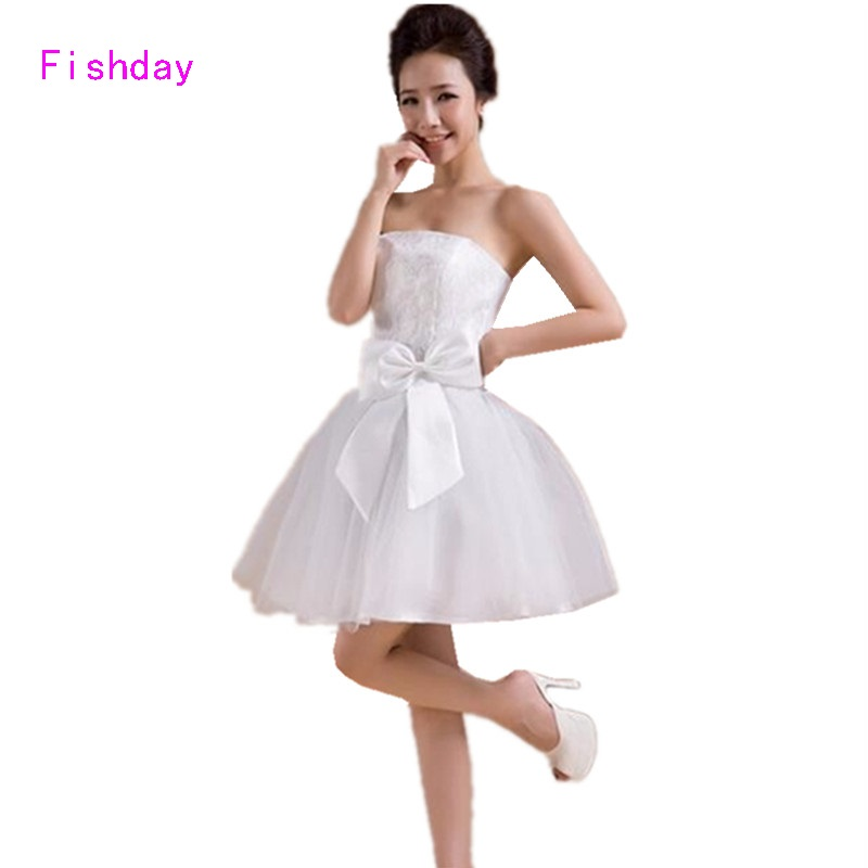 Compare Prices on White Fitted Homecoming Dresses- Online Shopping ...