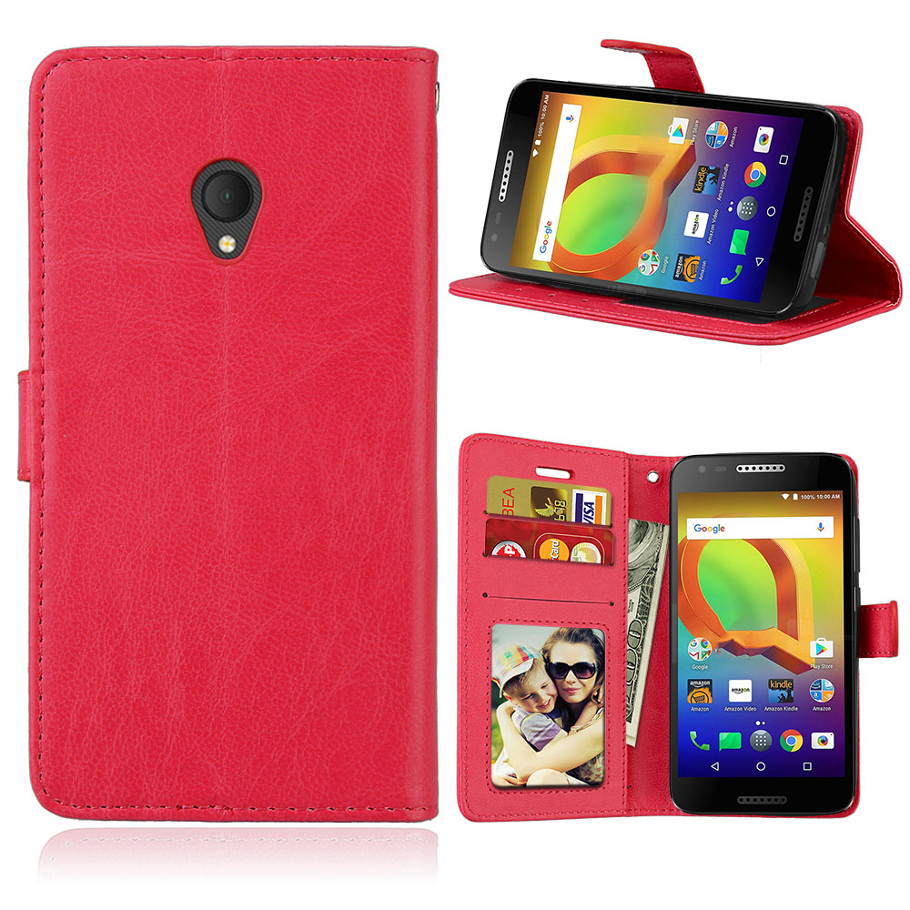 5 0'' Fundas For Alcatel U5 Case Luxury PU Leather Silicon Wallet Phone Bag  For Alcatel U5 4g 5044D 5044 Cases Stand Hold Cover