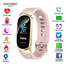 цена Sport Smart Bracelet Women Men Waterproof Smart Watch Heart Rate Blood Pressure Pedometer Smart Wristband For Android iOS онлайн в 2017 году