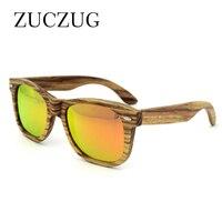 DAVE Brand Design Wooden Sunglasses Men Retro Polarized Coating Sun Glasses Hand Made 100% UV Protection Polaroid Lens Eyewear