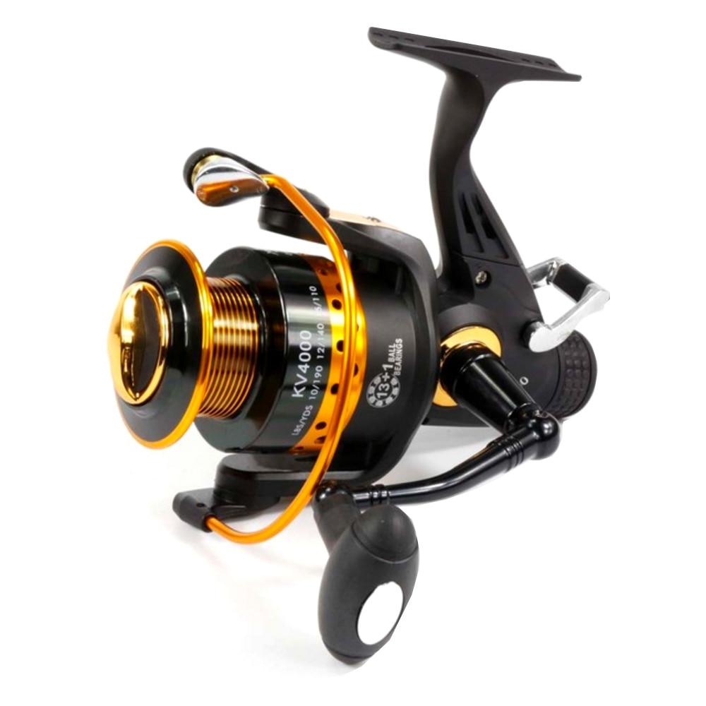 Double drag carp feeder fishing reel 5 2 1 13 1bb spinning for 13 fishing spinning reels