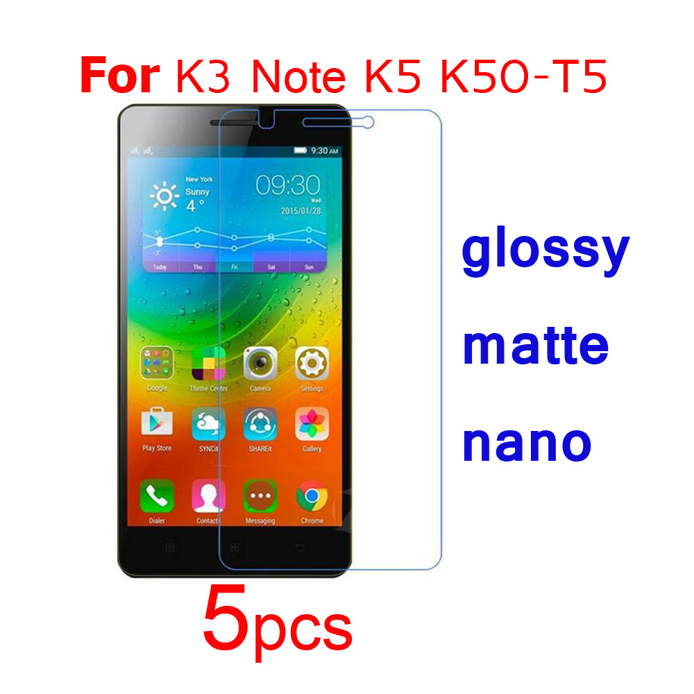 top 10 lenovo k3 note k5 t5 screen protector list and get