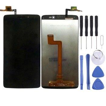 Pantalla LCD de alta calidad y cristal de recambio de montaje completo de LCD digitalizador para Alcatel One Touch Idol 3/5,5 de 6045 pulgadas con herramienta
