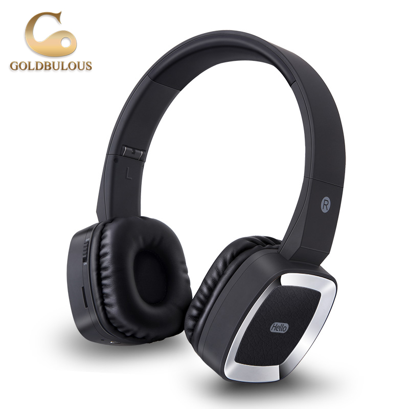 GBT6 Bluetooth Headphone Sport Wireless Earbuds Headset Stereo Earphone with Mic Support TF card AUX Audio for iPad Phone PC TV new metal magnetic wireless bluetooth headphone sport headset hands fress hifi earphone with mic for iphone samsung phones