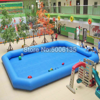 5x5m 0.9mm pvc tarpaulin outdoor rubber family adult plastic inflatable swimming pool,folding above ground swimming pool