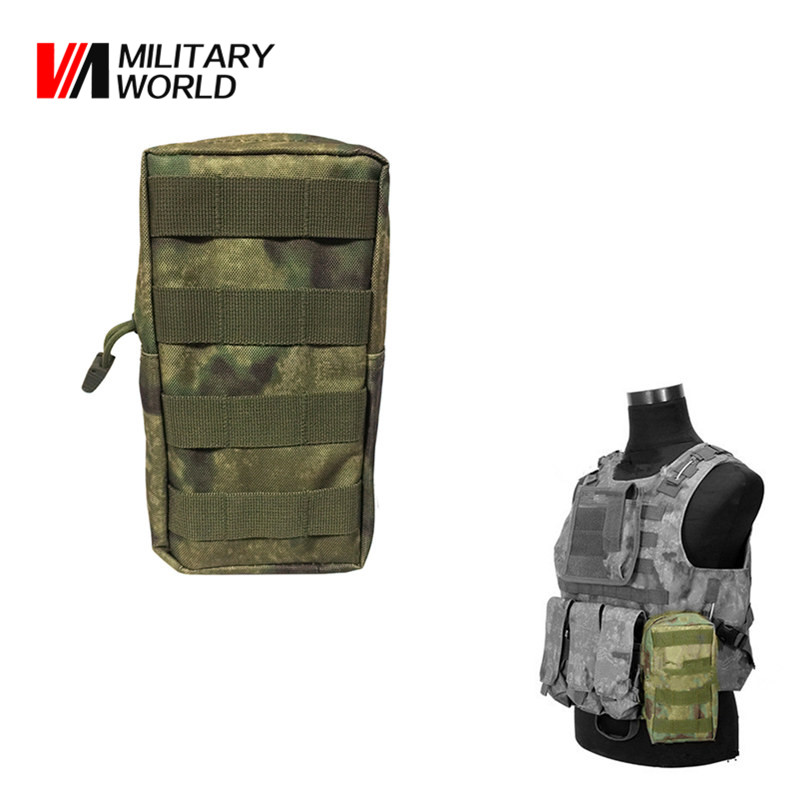 Airsoft Tactical Molle Vest Waist Bag Men Hunting Belt EDC Pack Pocket 600D Nylon Belt Bag Military Waist Pouch Equipment