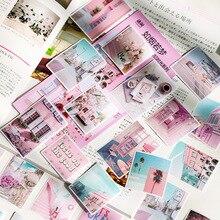 60 шт/1 упаковка Kawaii канцелярские наклейки памятный дневник планировщик декоративные мобильные наклейки Скрапбукинг DIY наклейки для рукоделия