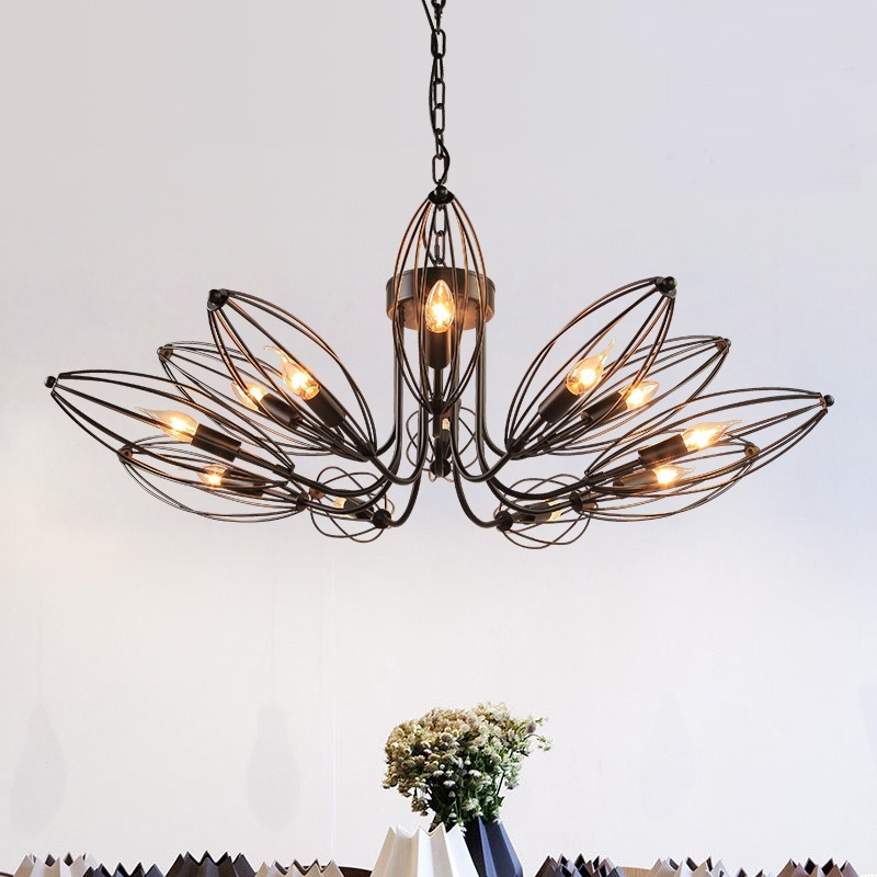 American style village Iron simple garden European style retro modern garden living room dining room pendant lights LO72810 american style iron horse head creative modern simple living room resin light personalized dining room pendant lights lo892