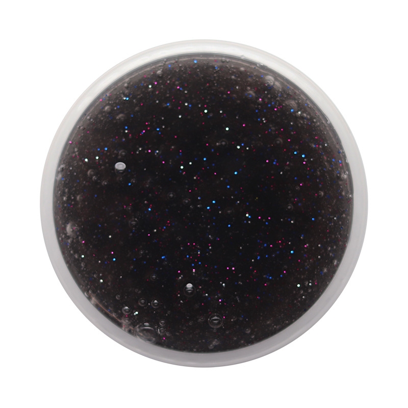 DIY Glitter Crystal Slime 14