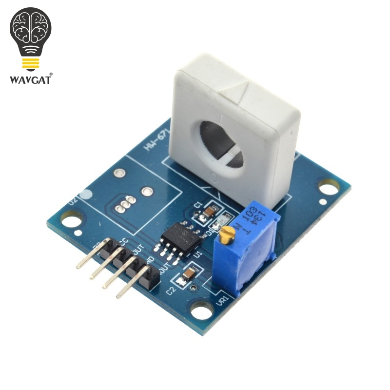 WAVGAT DC 5 v WCS1800 Hall Capteur de Détection de Courant Module 35A Précis Avec Surintensité Signal Lampe