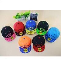 Hot Sale Fashion Child Hats Baby Girls Boys Baseball Cap Summer Visor Cap Flat Brimmed Hat