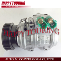For Car air conditioning compressor hyundai tucson 2.7L 97701 2D600 97701 07200 977012E300 977012E500 For Kia Sportage 2.7L V6