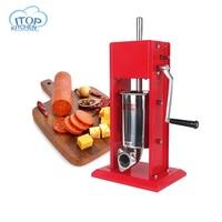ITOP ST 3 изделие для ручного приготовления колбас Для начинки мясом наполнитель с ручным управлением салями чайник и воронка