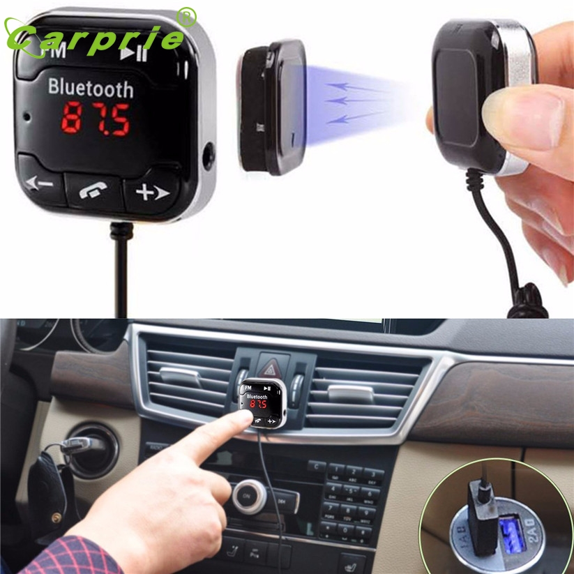 Car Kit Wireless Bluetooth FM Transmitter MP3 Player USB SD LCD Remote Handsfree ja 7 53000459