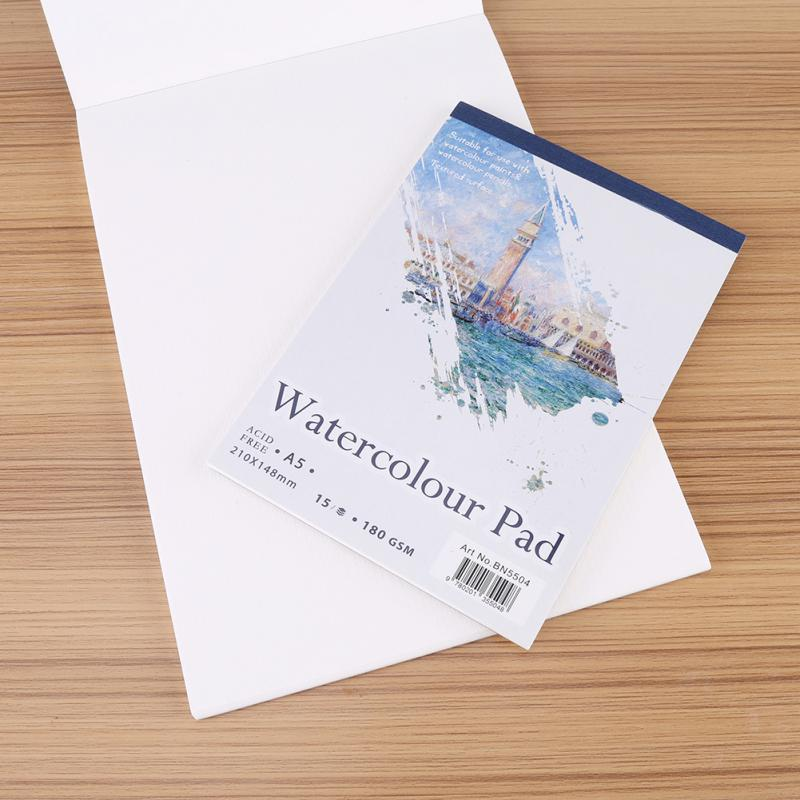 A4 A5 Artist Sketch Book Watercolor Paper Notepad For