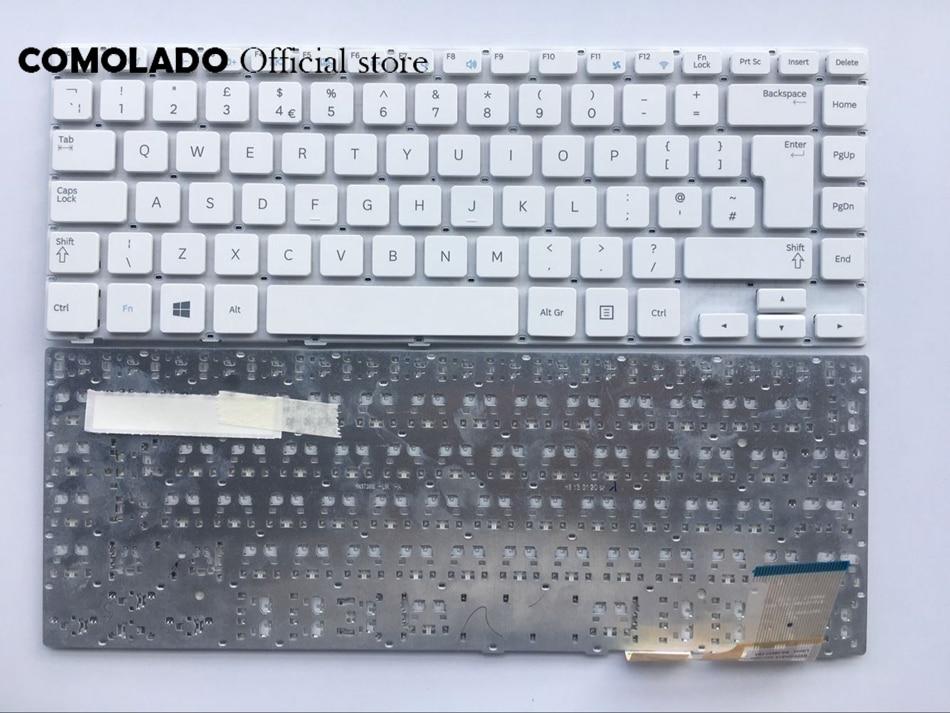 UK Keyboard For Samsung 370R4E 370R4V 450R4E 450R4V 470R4E 470R4V NP370R4E NP450R4E Laptop layout