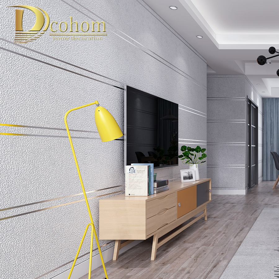 Modern Simple Suede Marble Stripes Wallpaper For Walls Roll Papel De Parede 3D Non-woven Desktop Wall Paper Living Room Bedroom wall paper papel de parede warm american pastoral bedroom tv backdrop environmental non woven wallpaper wallpaper for walls 3 d