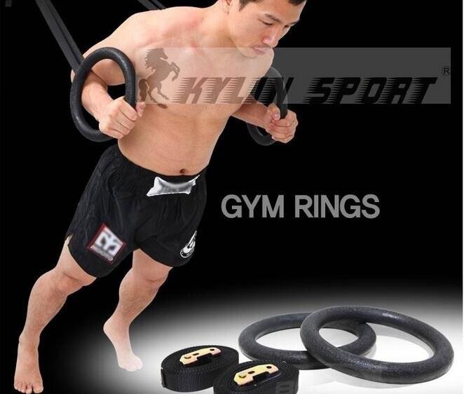 Adulte Formation Fitness Anneau Pull-Up De Gymnastique Anneau Intérieur Équipement Pour Body Building