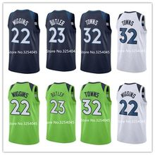 2019 New  32 Karl Anthony Towns  22 Andrew Wiggins  23 Jimmy Butler  Throwback Basketball jerseyStitched US Size S-XXL jersey 4cb259978