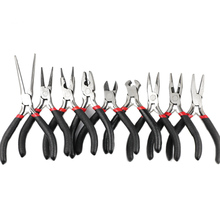 JHNBY Jewelry Pliers Tools Kit 4.5 Mini Long Needle Round Nose Cutting Wire For Making Handmade Accessories DIY