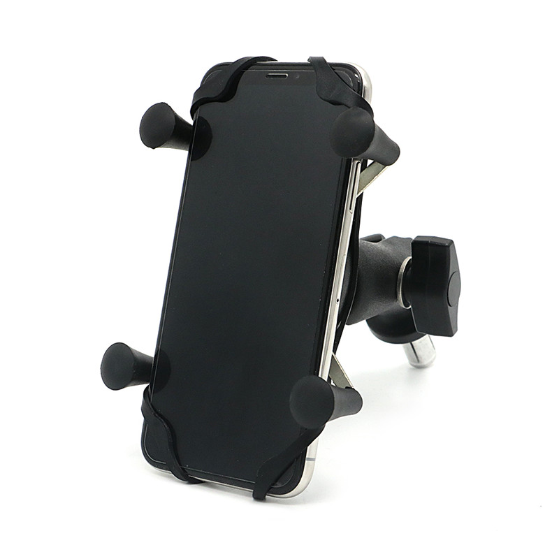 Motorcycle <font><b>GPS</b></font> Navigation X-Grip In Fork Stem Phone mount Holder Frame Bracket for Yamaha R1 02-17/ R6 06-17/ BMW S1000RR HP4 image