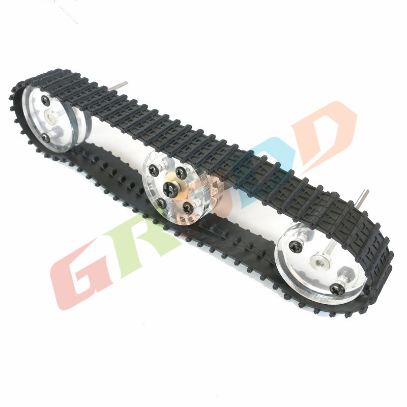 32mm combination track wheel wheels DIY model tank / tank track wheel model production Science and Technology / robot toy car