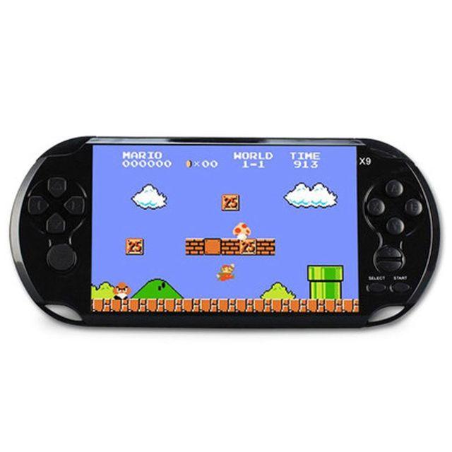 Powkiddy Retro Handheld Spiel Controller 8GB 5,1 Zoll Bildschirm Klassische Spiele AV Ausgang TV Video Spielkonsole Unterstützung Film kamera
