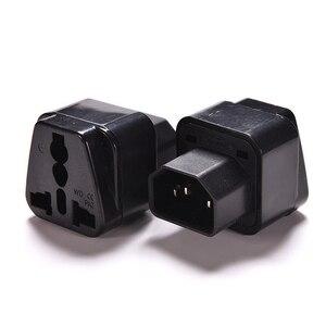 1 шт., черная розетка 2500 Вт в Pro IEC 320 PDU, адаптер питания с адаптером для C14, конвертер