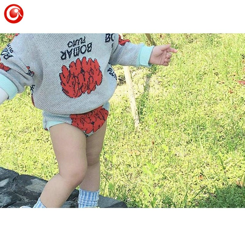 1-5y 2016 Autumn Children\'s Girls Sweater Fashion Toddler Bat Cardigan For Baby Boys Christmas Clothes Long Sleeve Outwear (12)