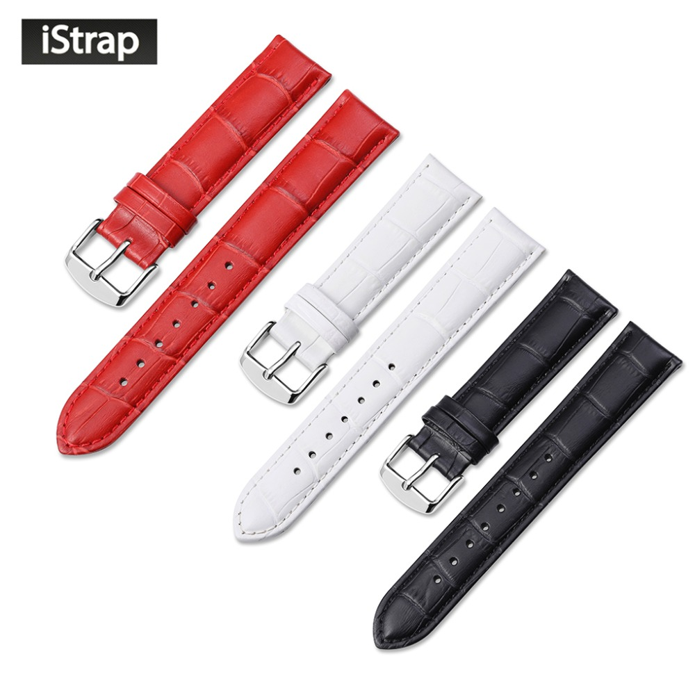 Watch Strap Genuine Leather Watch Band for IWC Victorinox Bracelets Tang Buckle Belt Women Men 12 13 14 16 18 19 20 21 22 24 mm hot sale watchband high quality leather watch accessories for women 14 15 16 17 18 19 20 21 22 23 24 mm strap belt free shipping