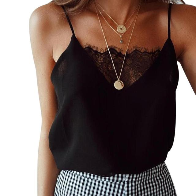 Blouse Tee Lace T Shirts...