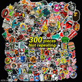 300 pcs Not repeating waterproof stickers for Home decor Travel Suitcase Wall Bike fridge Sliding Plate Car Styling sticker