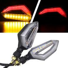 LED Motorcycle Turn Signal Lights 12V Indicator Moto Clignotant Blinker DRL Lamp FOR YAMAHA MT 09 TRACER MT03 MT07 FJ-09 MT-09