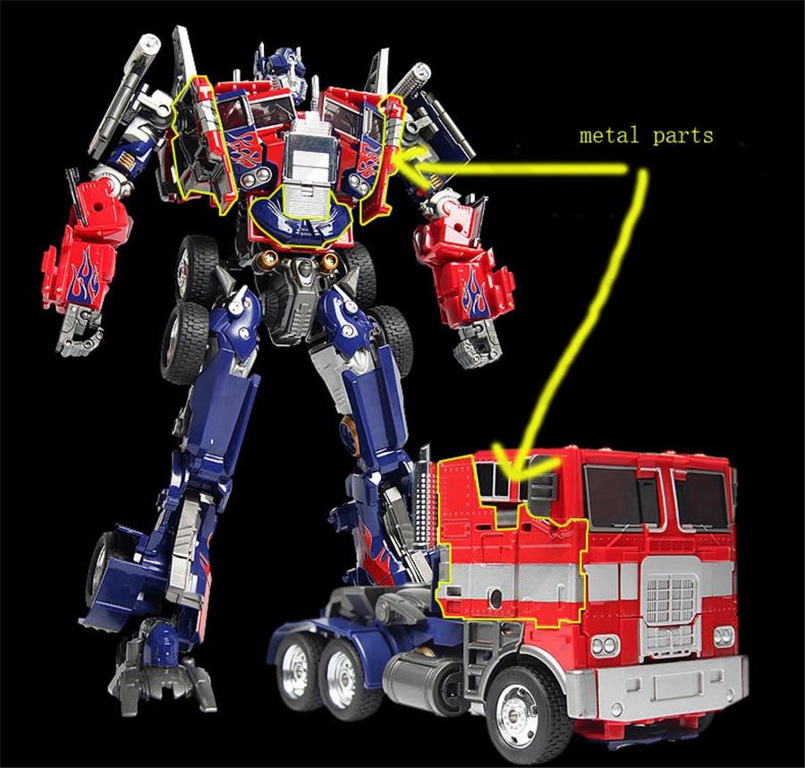 Transformers war damaged optimus prime MPP10-M01D alloy edition toy