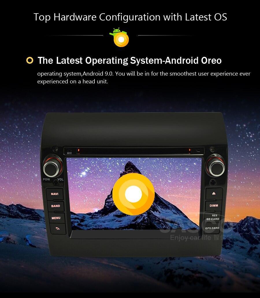 TDA7851 2GB de RAM DVD Unidade Central de Navegação GPS Bluetooth