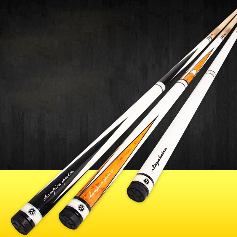 2018 Excellent Handmade 1/2 Piece Snooker Cue Kit Stick with a Case 5A North Canadian Maple Billiard Stick Cue Snooker Stick