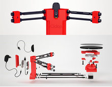 3d Open source DIY BQ Ciclop 3d scanner kit for 3d printer, designer and engineering