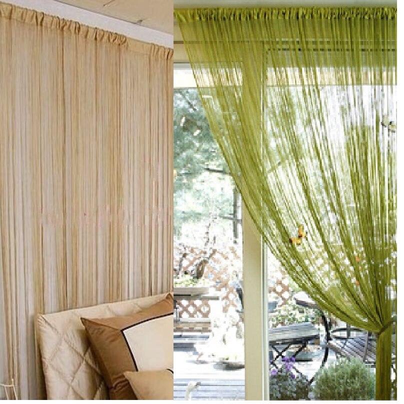 300x300 cm sólido cinza bege café preto branco roxo azul janela de triagem haste bolso corda cortina da porta divisória cortinas
