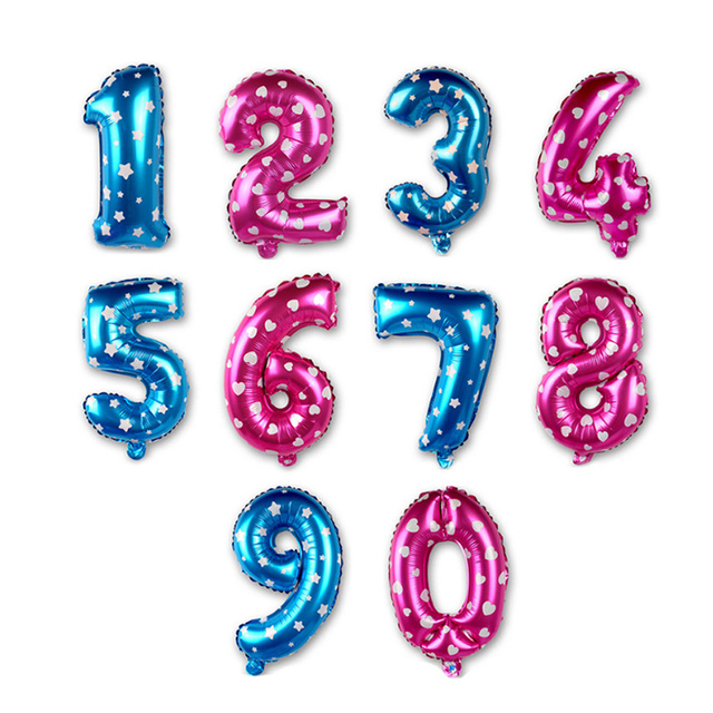 Foil Number Balloons Birthday Party Wedding Decoration Inflatable